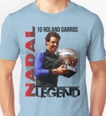 Rafael Nadal The Legend  Unisex T-Shirt