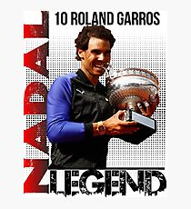 Rafael Nadal The Legend  Photographic Print