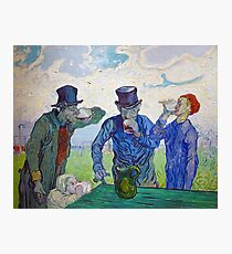 The Drinkers by Vincent van Gogh (1890) Photographic Print