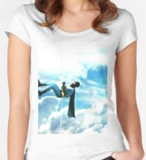 clim to heaven Women's Fitted Scoop T-Shirt