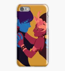 2 Ugly Ppl (8.5x11) iPhone Case/Skin