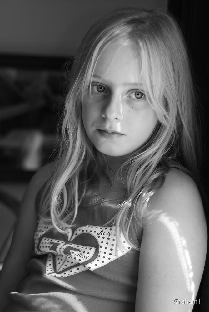 Pensive Kaitlyn by GrahamT