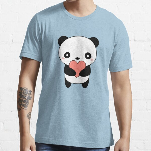 Kawaii Cute Panda Bear  Essential T-Shirt