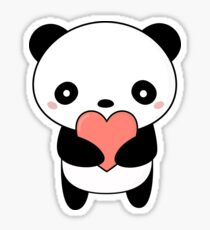 Kawaii Cute Panda Bear  Sticker