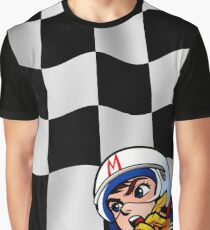 Speed Racer Checkered Flag! Graphic T-Shirt