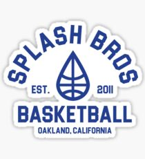 Splash Bros Basketball 1 Sticker