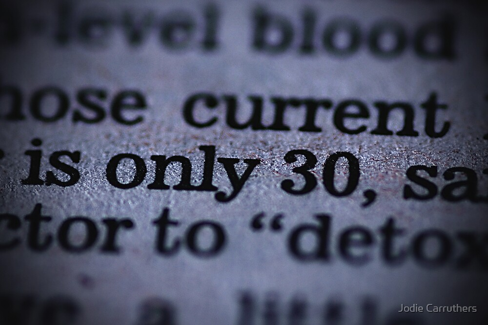 only 30... by Jodie Carruthers
