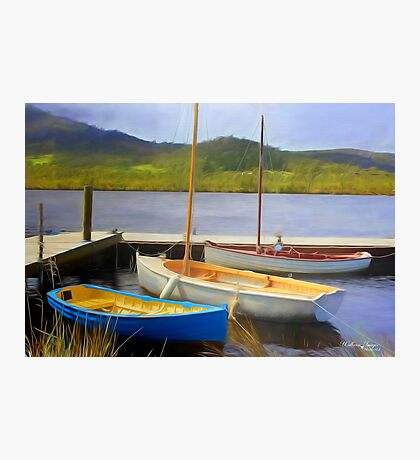 Little Boats on the Huon Photographic Print
