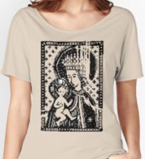Mary and Jesus Women's Relaxed Fit T-Shirt