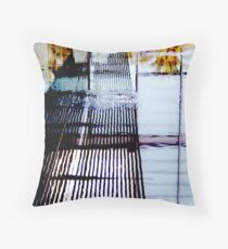 Conjunction of 3 Windows Throw Pillow