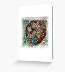 The Atlas Of Dreams - Color Plate 65 Greeting Card