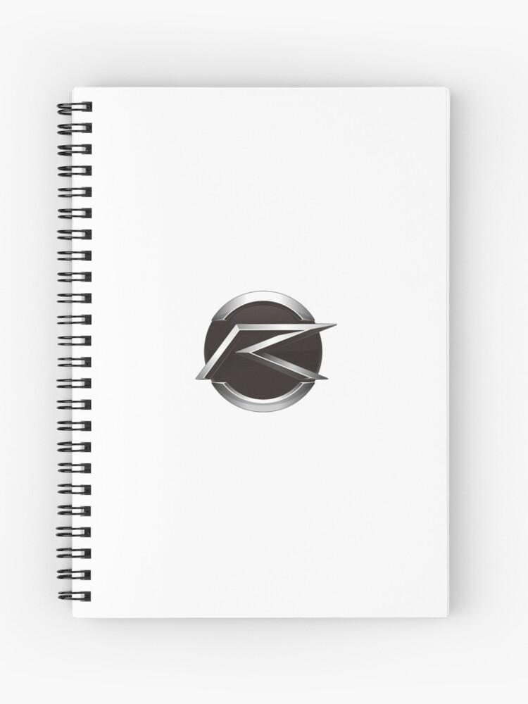 Kamen Rider Drive - Drive Logo | Spiral Notebook