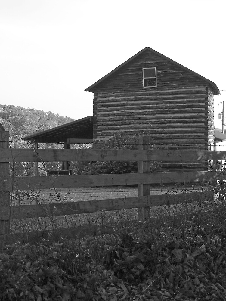Fence & Barn by Kristie King