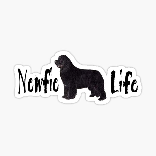 Newfie Life Sticker