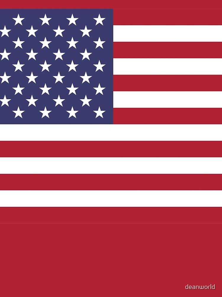American Mini Skirt - USA Flag by deanworld