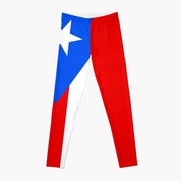 Puerto Rico Flag Duvet Bedspread Leggings