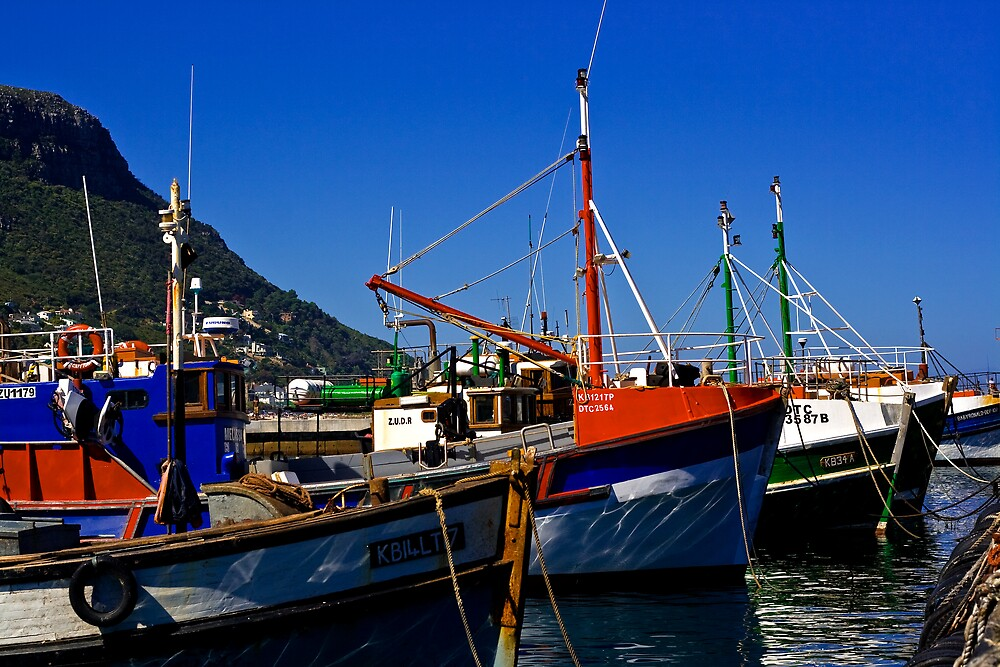 Harbour Boats by MrTim