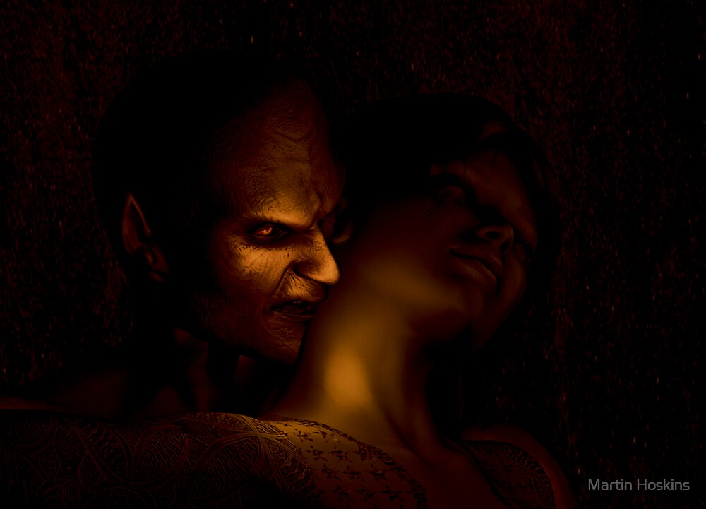 The kiss (of the Ghoul) by Martin Hoskins
