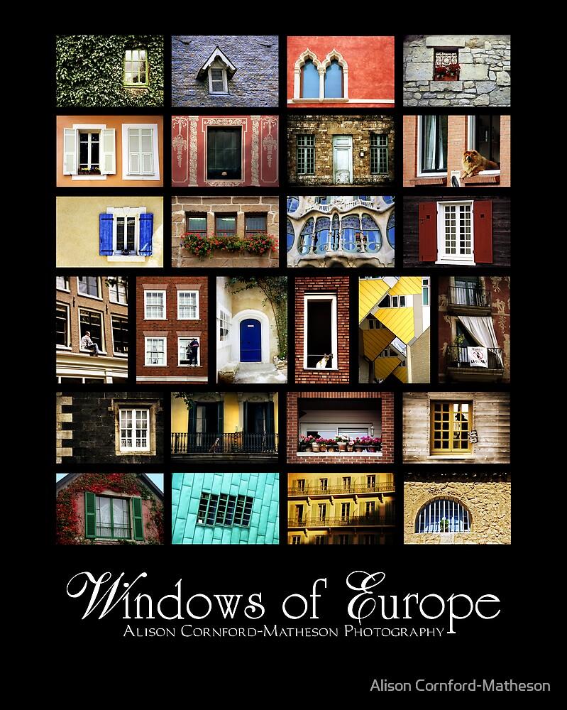 Windows of Europe by Alison Cornford-Matheson