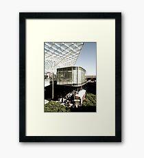 Seventies' ship Framed Print