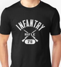 3rd ID Military Infantry Design Unisex T-Shirt