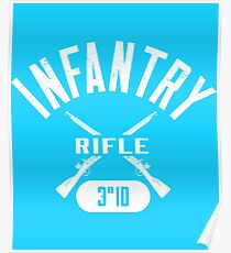 3rd ID Military Infantry Design Poster