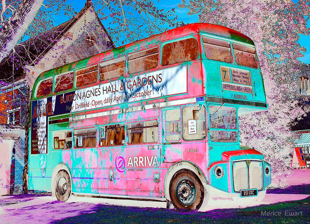 From London to Burton Agnes Hall - Funky Bus by technochick