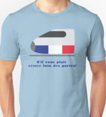 French Monorail Unisex T-Shirt