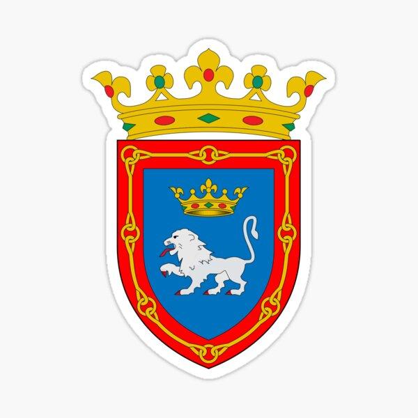 Escudo de armas de Pamplona, España Pegatina
