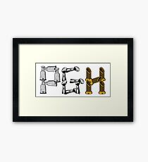 PGH - City of Champions Graphic Framed Print