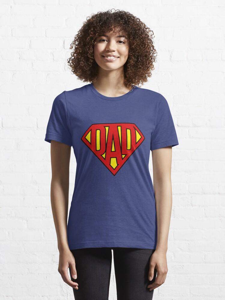 Alternate view of Super Dad Essential T-Shirt
