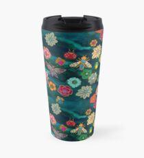 The Jewelled Garden - Turquoise Travel Mug