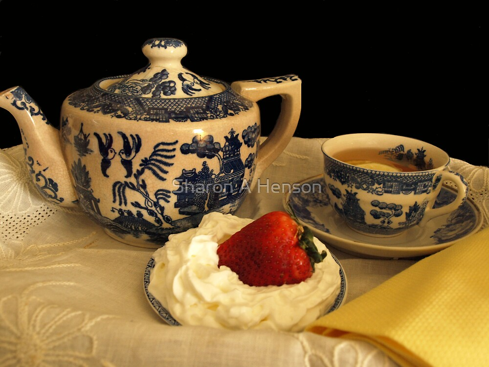 STRAWBERRIES AND CREAM by Sharon A. Henson