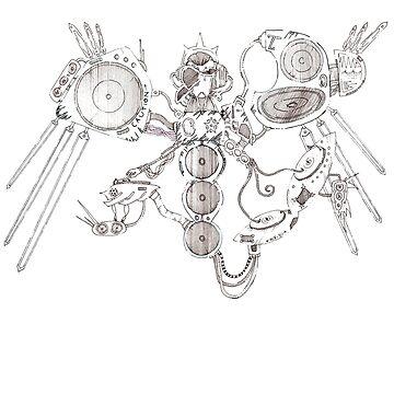 Intergalactic DJ Rephlex Cosmos by illumizar