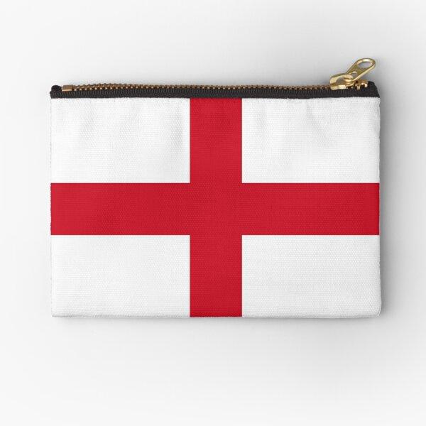 Flag of England - St George's Cross - Football Sport Team Sticker T-Shirt Bedspread Zipper Pouch