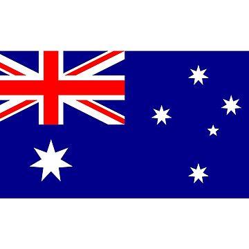 Australian World Cup Flag - Australia Team T-Shirt Oi! by deanworld