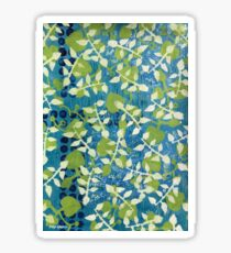 """Greenery"" by Margo Humphries Sticker"