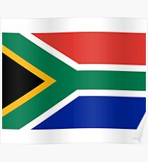 South Africa Flag - African Rugby Springboks, Sticker Duvet Bedspread T-Shirt Poster
