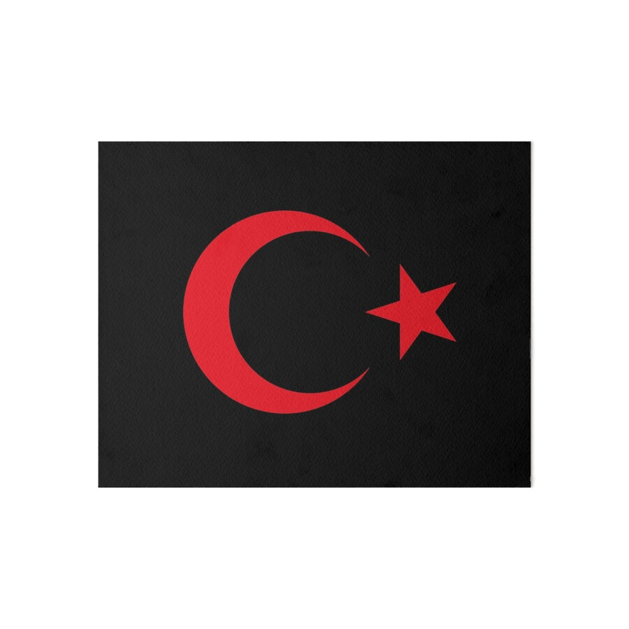 Turkish crescent moon star flag national turkey symbols sticker t turkish crescent moon star flag national turkey symbols sticker t shirt duvet by deanworld biocorpaavc Gallery