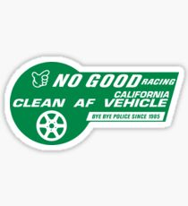 No Good Racing HOV Style Decal Sticker