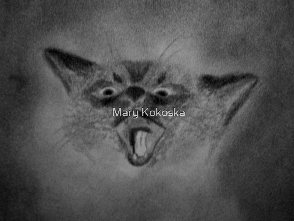 Feline by Mary Kokoska
