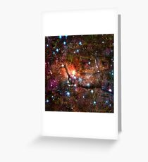 When The Stars Are Right - V838 Monocerotis in Monoceros Greeting Card