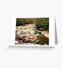 Great Smoky Mountains Stream Greeting Card