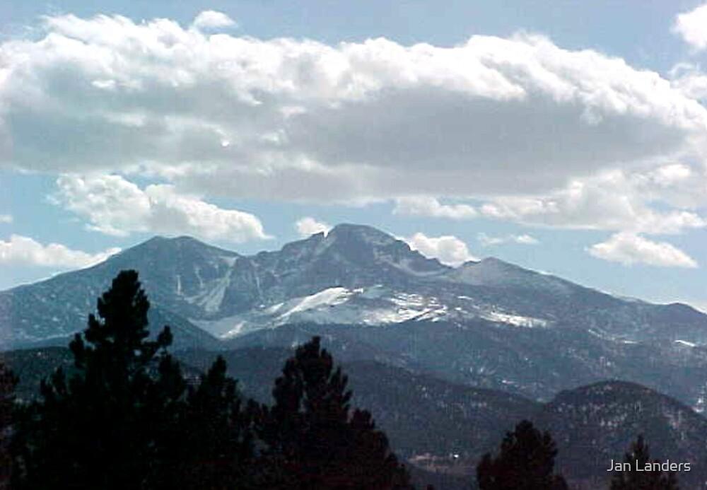 Springtime in the Rockies by Jan Landers