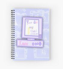 Kawaii Computer Spiral Notebook