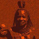 Himba woman by rrutten