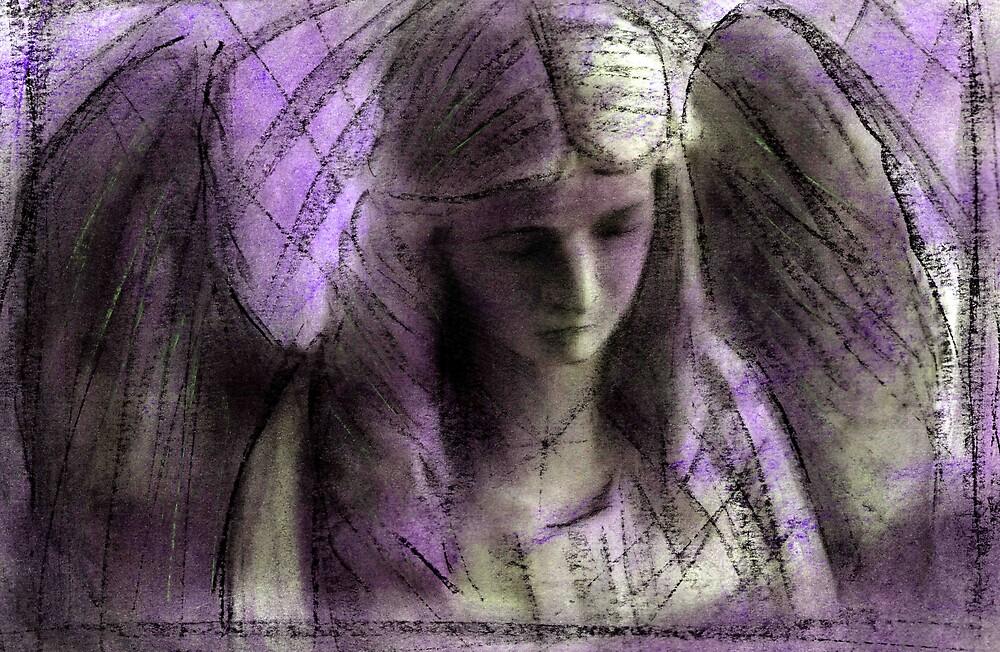 Angel study 9 by cliffwarner