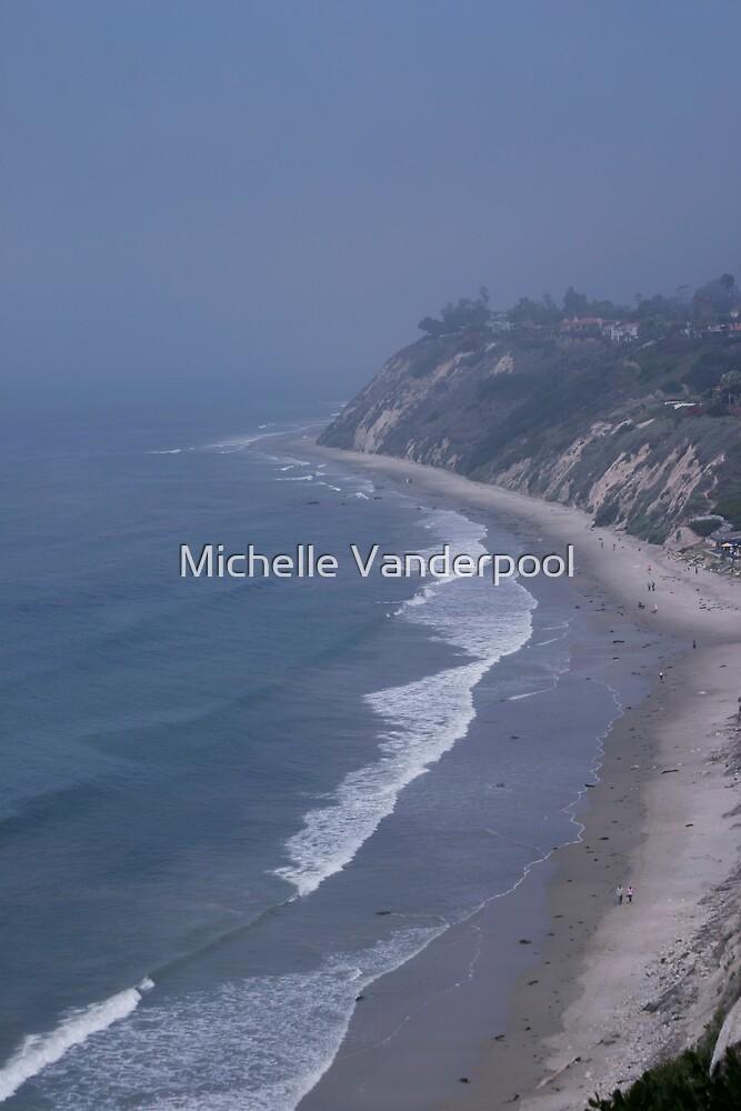 santa barbara shoreline by Michelle Vanderpool