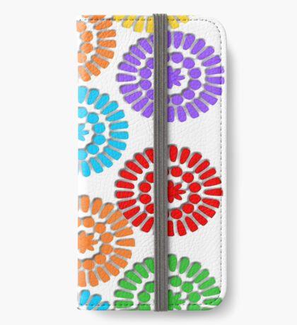 rainbow circle pattern ( 1112 Views) iPhone Wallet