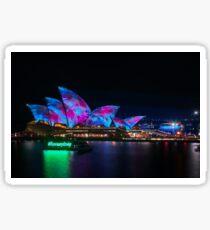 'I love Sydney' at Vivid Sydney Festival Sticker